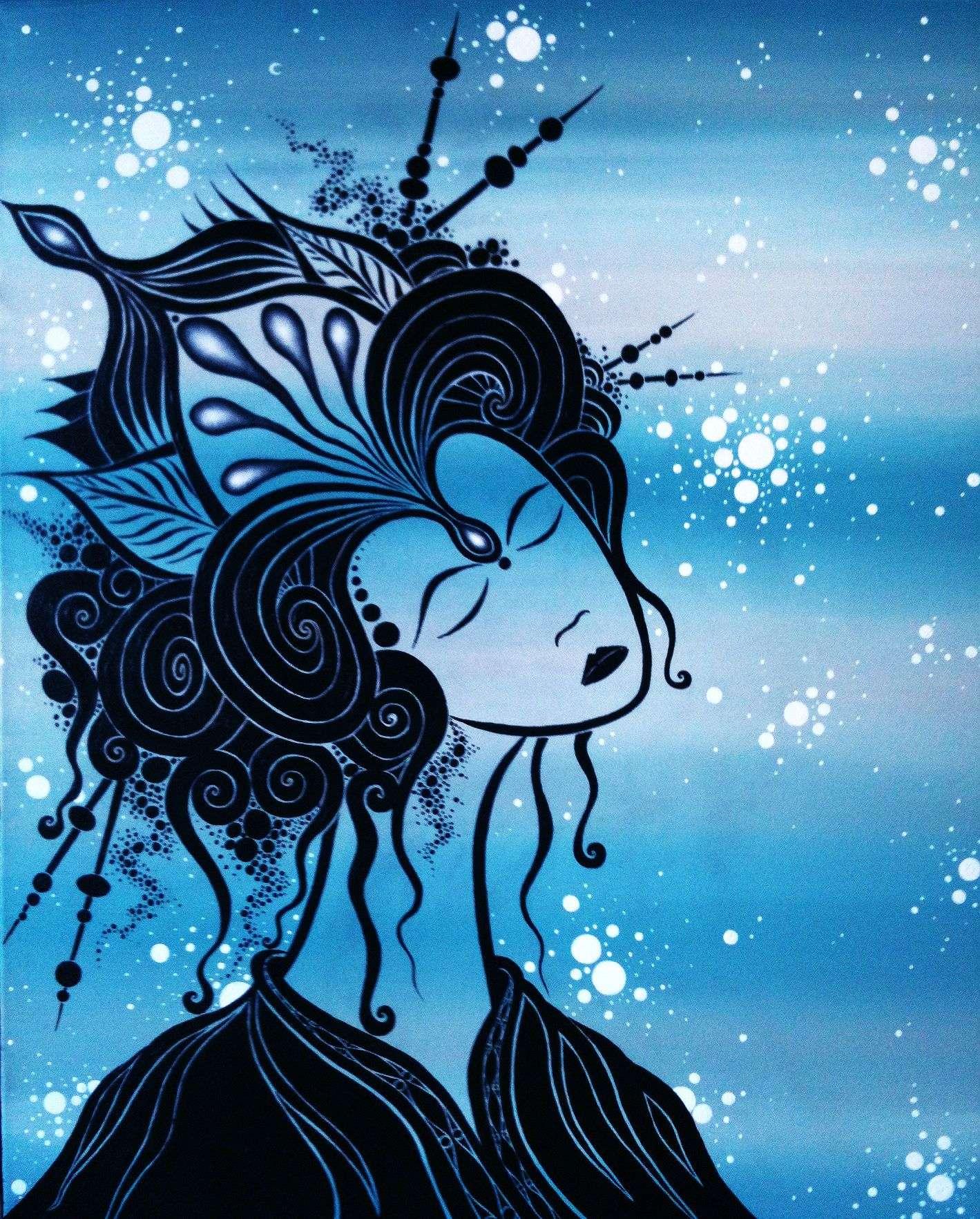Cosmic geisha II_Jordi Bofill