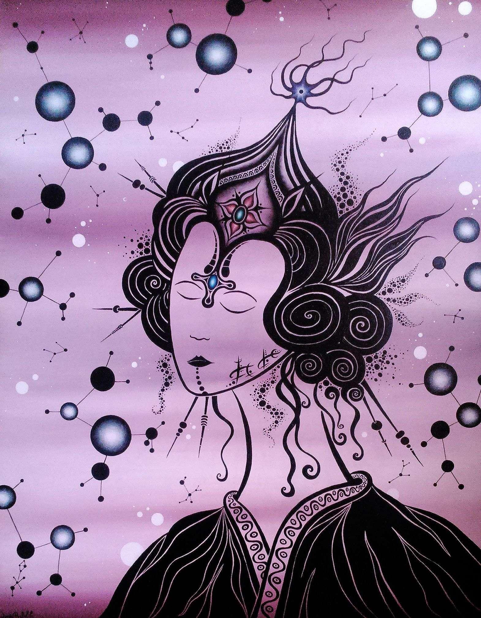 Cosmic geisha_Jordi Bofill