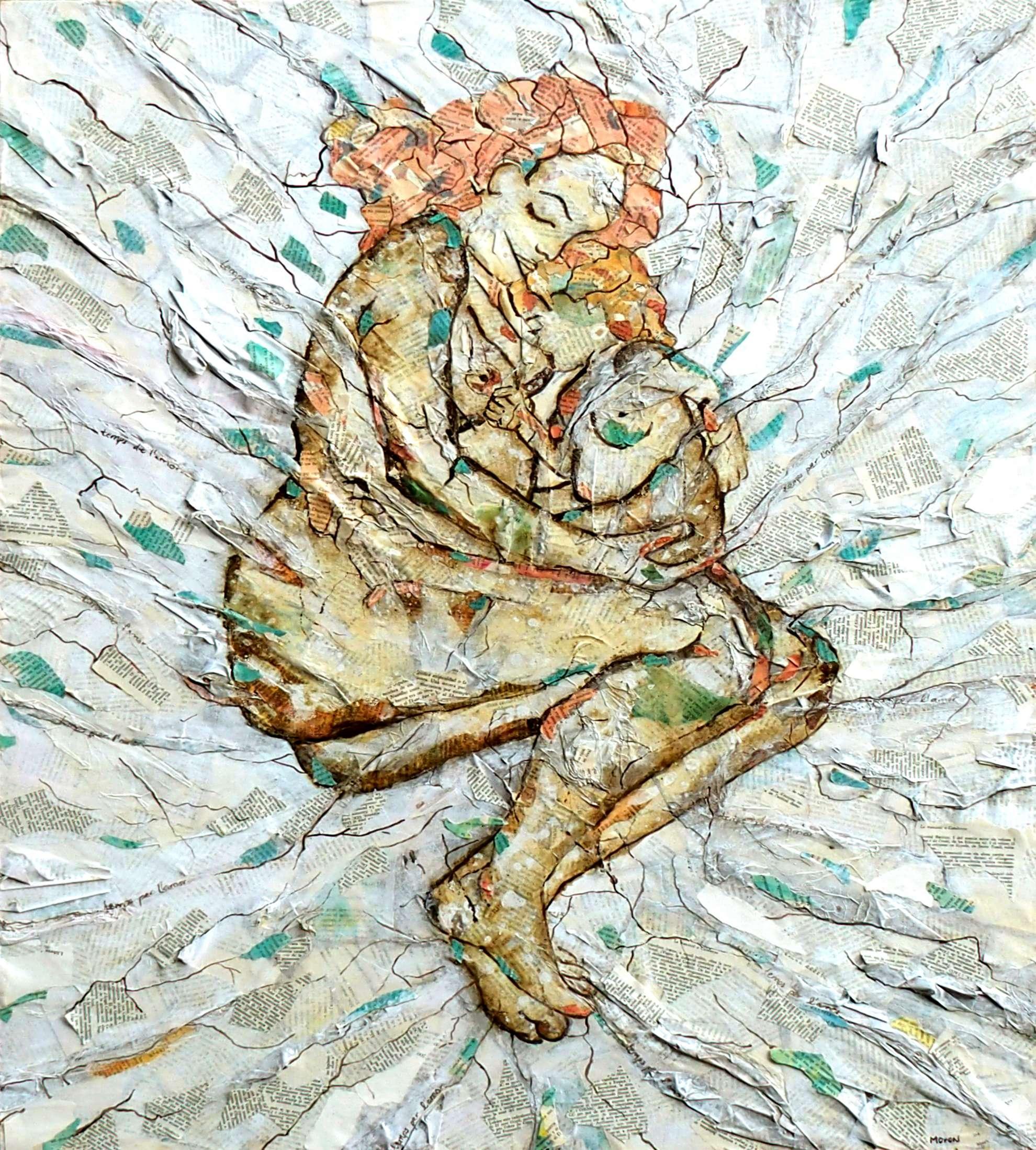 Donant de mamar dins el llit_Raquel Moron